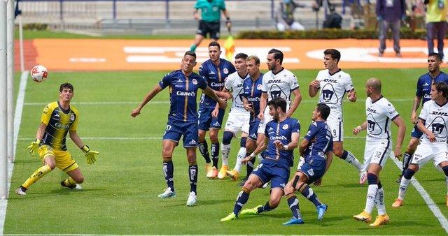 Resultado Pumas vs Atlético San Luis -J10- Guardianes 2020