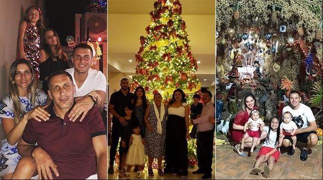 Jugadores de Cruz Azul celebran la Navidad  en familia