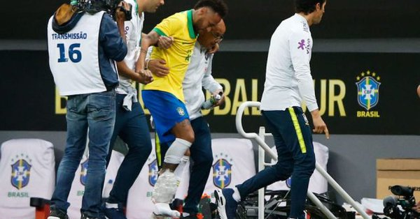 Neymar Jr. queda fuera de la Copa América