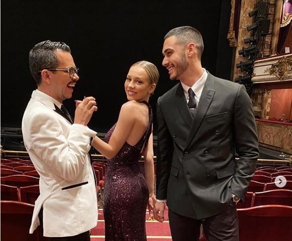 Ester Expósito de Elite y Alejandro Speitzer tienen romance