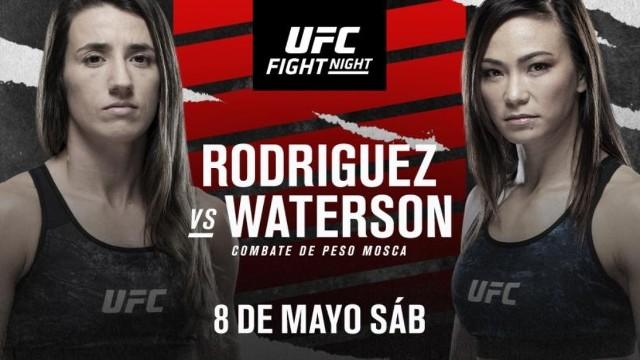 Rodríguez vs Waterson en Vivo – UFC Vegas 26 – Sábado 8 de Mayo del 2021
