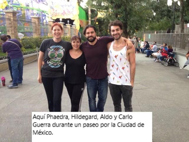 Fotos de los 5 hijos de  Rogelio Guerra