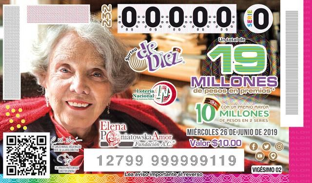Loteria Nacional Sorteo de Diez No. 232 en Vivo – Miércoles 26 de Junio del 2019