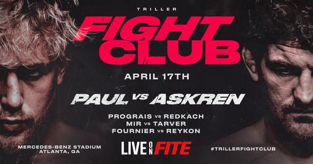 Jake 'The Problem Child' Paul vs Ben 'Funky' Askren en Vivo – Box – Sábado 17 de Abril del 2021