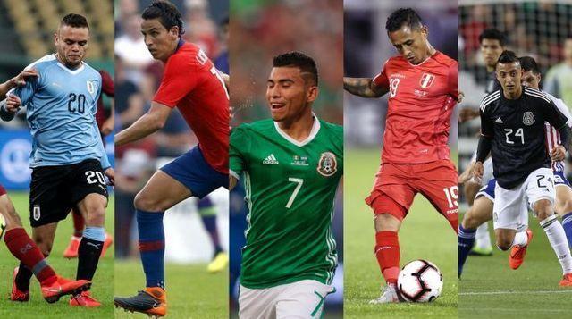 Jugadores del Cruz Azul que fueron convocados por sus selecciones