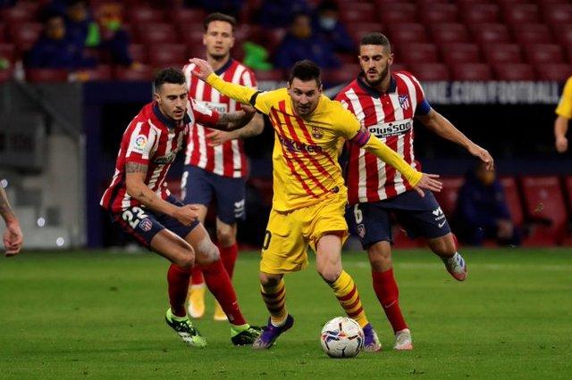 Resultado Barcelona vs Atlético de Madrid – J10- La Liga 20-21