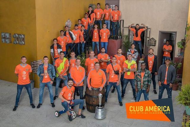 Foto oficial del Club América para el Clausura 2019