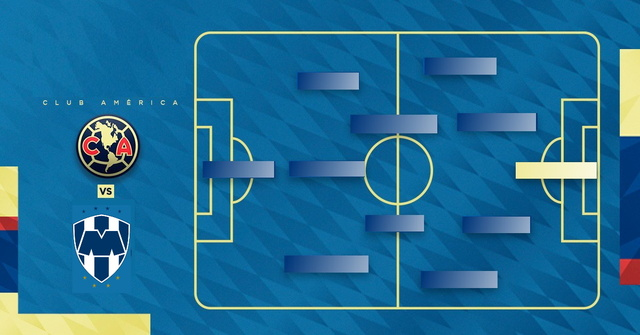 Alineación probable de América vs Rayados de Monterrey – J1- Apertura 2019