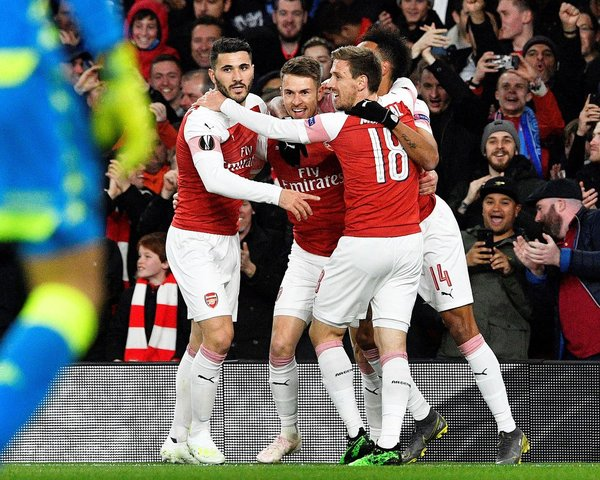 Resultado Arsenal vs Napoli – Cuartos de Final –  Europa League