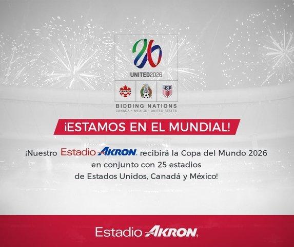 Estadio de Chivas será sede mundialista