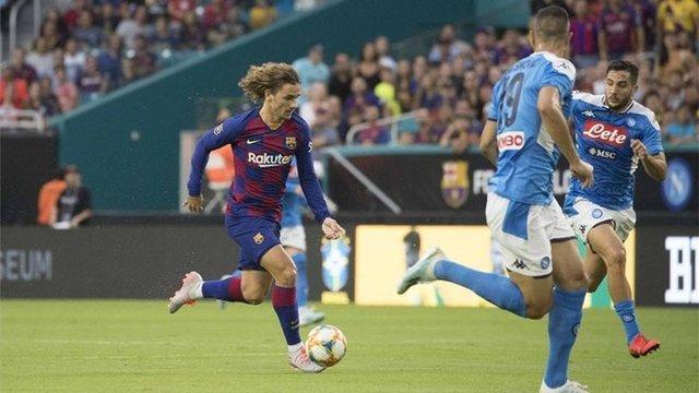 Resultado Barcelona vs Napoli – Partido Amistoso