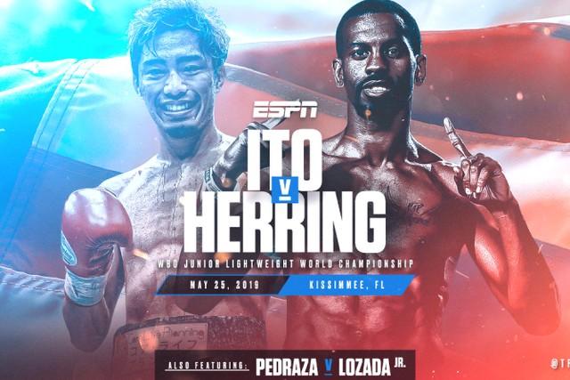 Masayuki Ito vs Jamel Herring en Vivo – Box – Sábado 25 de Mayo del 2019