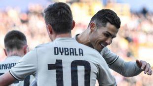 Dybala pide consejo a Cristiano Ronaldo
