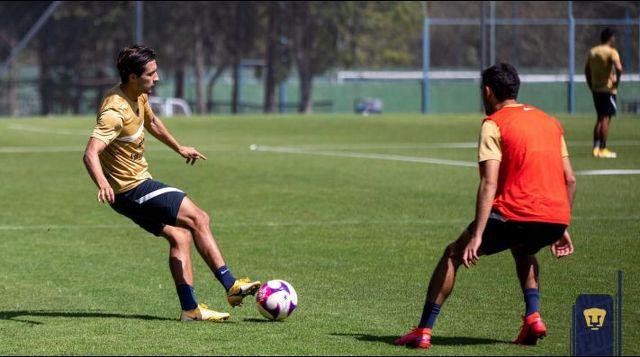 Pumas continúa trabajos, Talavera jugará ante Toluca