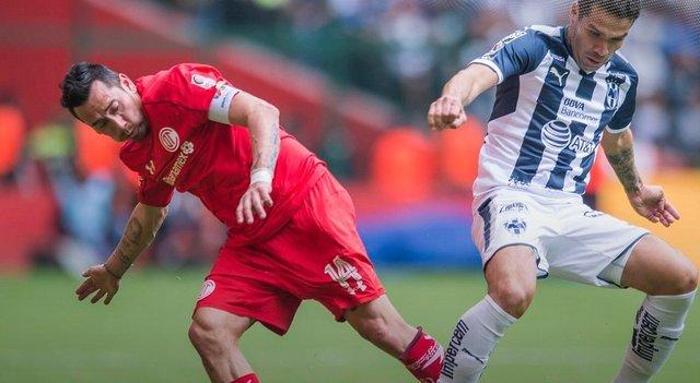 Resultado Toluca vs Monterrey en Jornada 6 del Clausura 2018