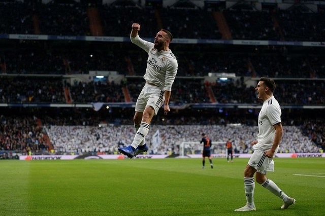 Resultado  Real Madrid vs Valencia J14- en La Liga