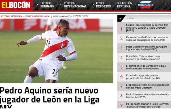 Cruz Azul pierde a Pedro Aquino, se va con León