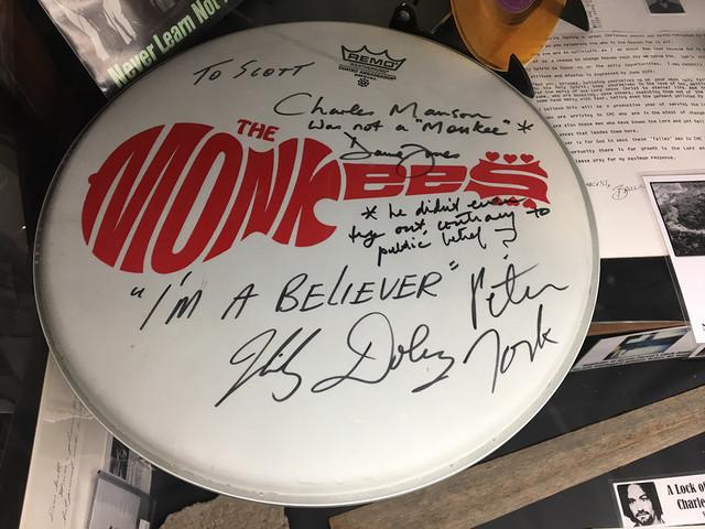 Scott Michaels' Monkees Drum Head