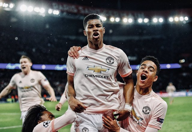 Resultado PSG vs Manchester United – Octavos de Final –  Champions League