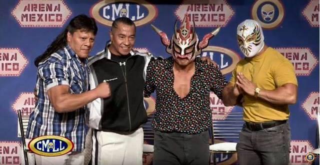 CMLL Facebook Live Especial con Liger en Vivo – Jueves 18 de Julio del 2019