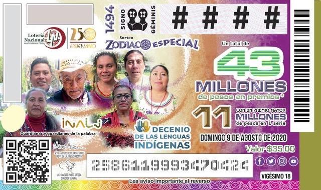 Loteria Nacional Sorteo del Zodiaco No. 1494 en Vivo – Domingo 9 de Agosto del 2020
