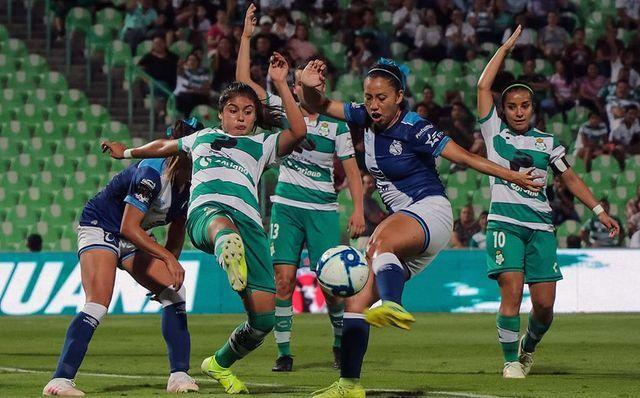 Resultado Santos vs Puebla – J13 – Apertura 2019 – Liga MX Femenil