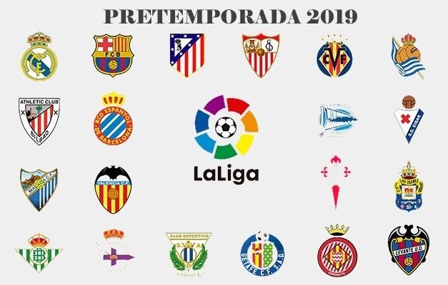 Pretemporada 2019 de equipos de la Liga Española