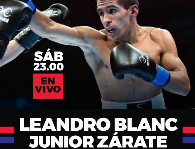Leandro Jose Blanc vs Junior Leandro Zarate en Vivo – Box – Sábado 25 de Septiembre del 2021