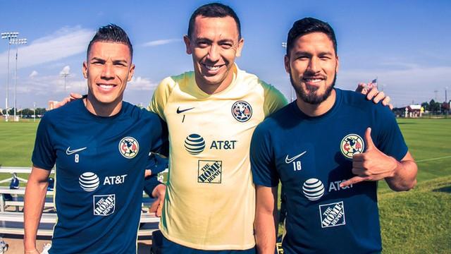 Marchesín, Bruno Valdéz y Uribe ya están con el América