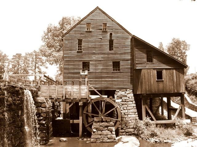 Yates mill sepia