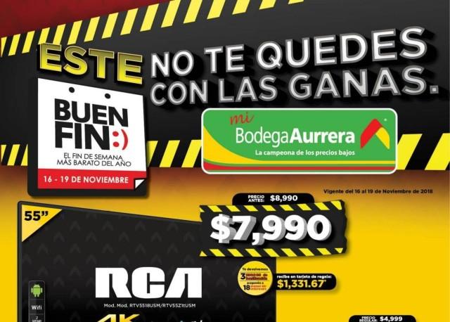 Catalago Bodega Aurrera en El Buen Fin 2018
