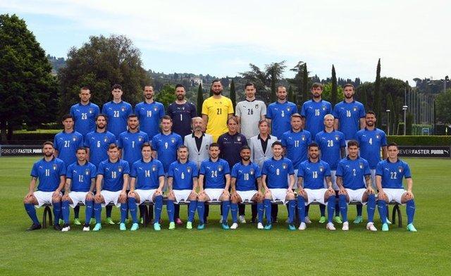 Convocados de la Selección Italiana – Eurocopa 2021