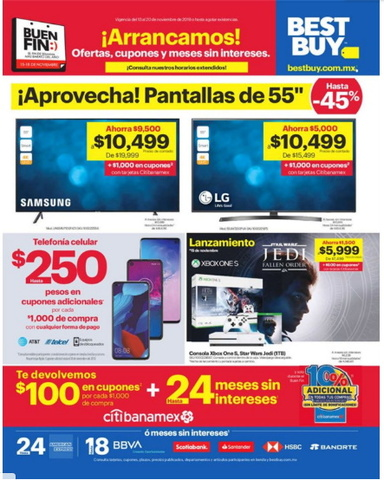 Ofertas Best Buy Buen Fin 2019