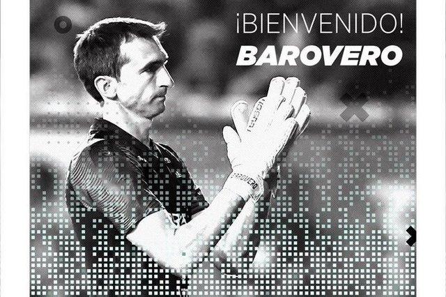 Marcelo Barovero ficha con equipo español de la tercera division