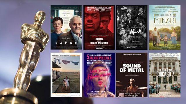 Nominados a los Premios Oscar 2021