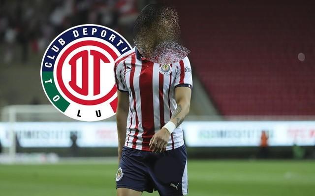 Jugador de Chivas  llega a Toluca