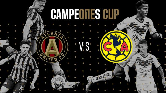 Atlanta United FC vs América en Vivo – Campeones Cup – Miércoles 14 de Agosto del 2019
