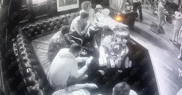 Captan a jugadores del Arsenal consumiendo la droga 'hippy crack'
