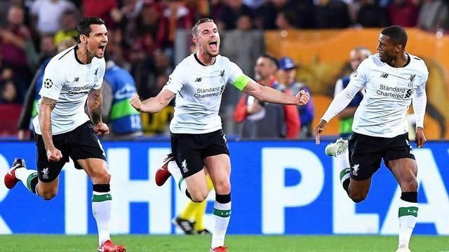 Resultado Roma vs  Liverpool  en Semifinales de la Champions League