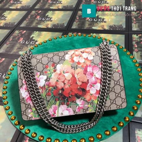 Gucci Dionysus Small Size 28 cm, khóa đầu rồng, màu đỏ đô