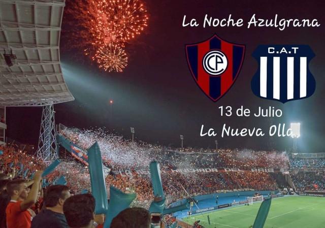 Cerro Porteño vs Talleres de Córdoba en Vivo – Partido Amistoso – Viernes 13 de Julio del 2018