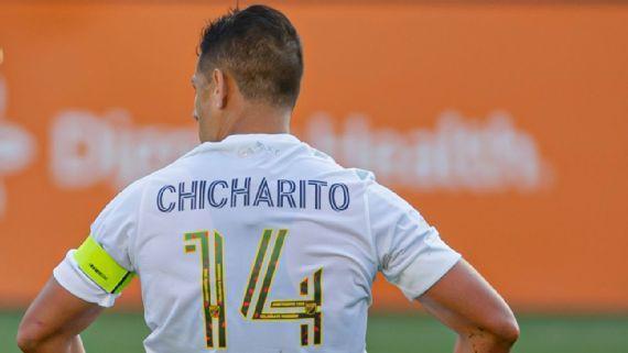 Chicharito se recupera de lesión y jugara este fin de semana