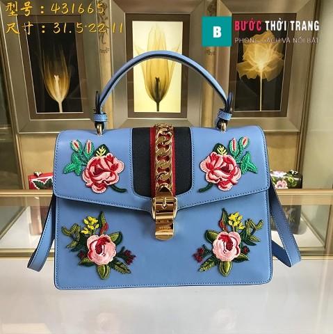Gucci Sylvie size lớn 31.5cm