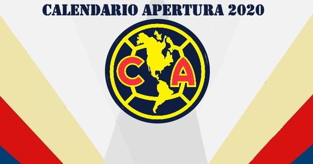 Calendario América Guardianes 2020 (Apertura 2020)