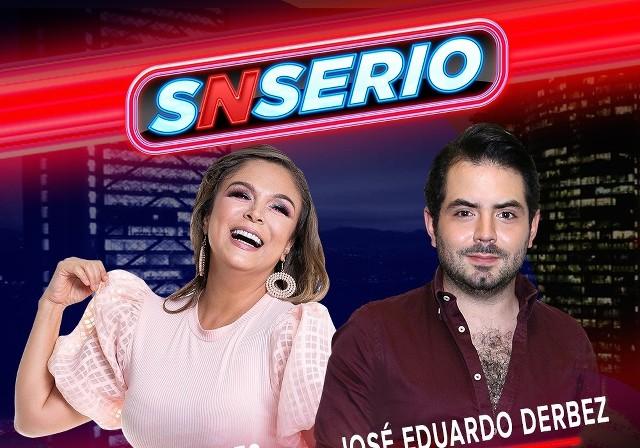 SNSerio en Vivo – Brenda Bezares y José Eduardo Derbez – Jueves 29 de Octubre del 2020