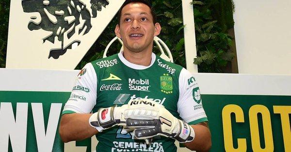 Rodolfo Cota ya fue presentado por el León