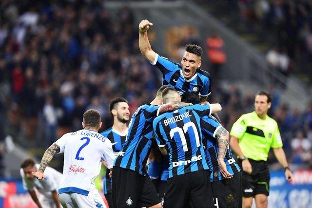Inter  vence 2-1 a Empoli y amarra «Champions»