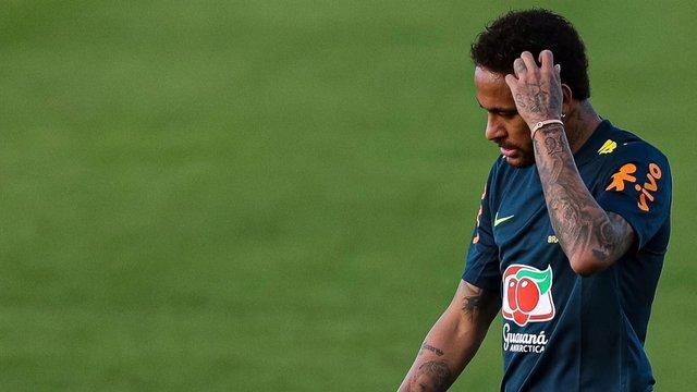Conversación de Whatsapp entre Neymar y Najila