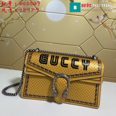 Túi Xách Gucci Dionysus Small Size 28 cm màu vàng