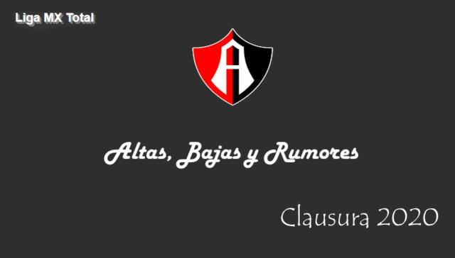 Altas, Bajas y Rumores del Atlas